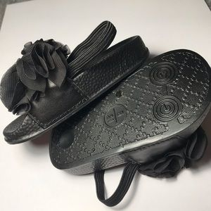 NWOB Toddler Size 5 Nicole Miller Black Sandal